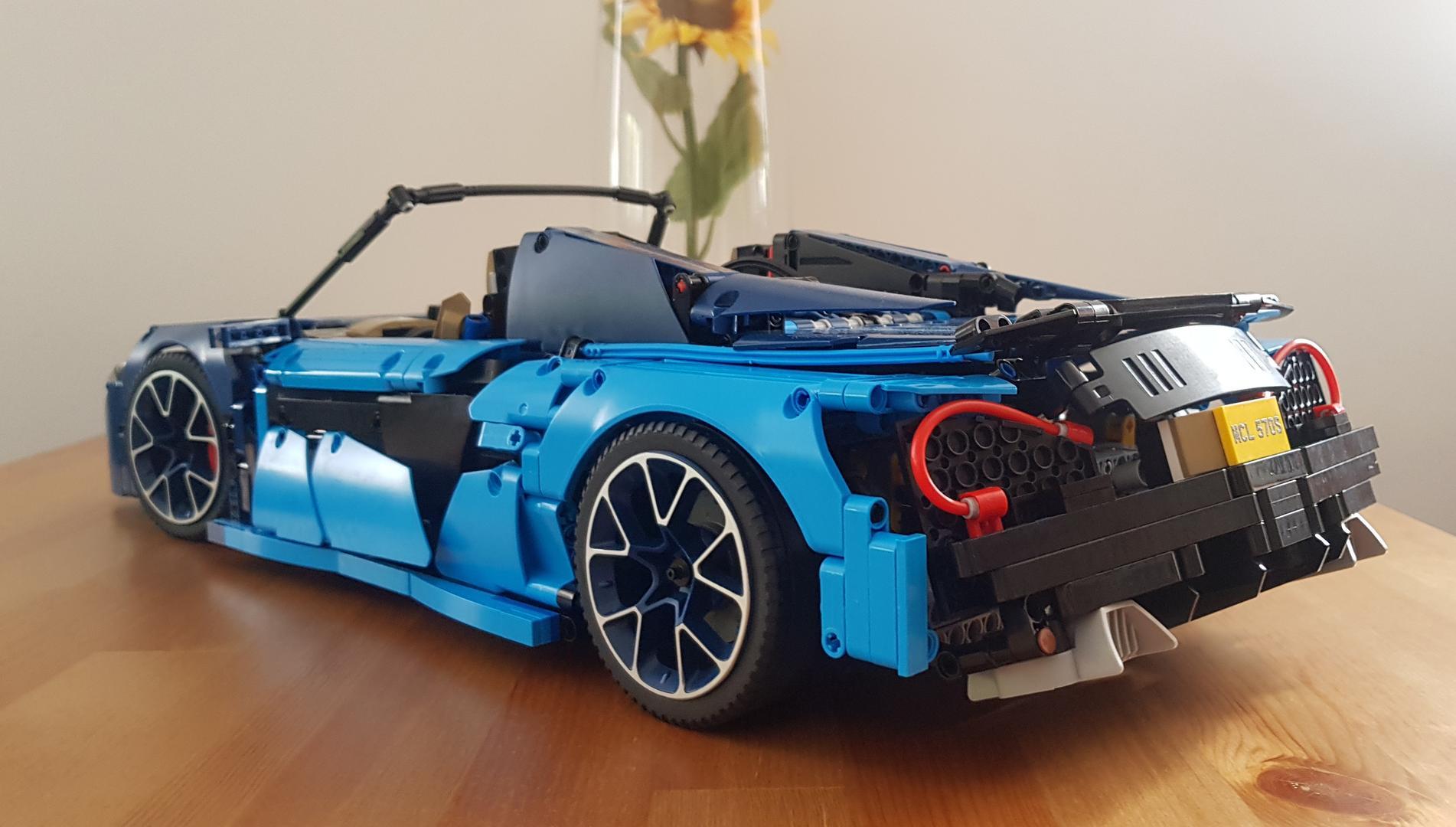 LEGO MOC-16029 McLaren 570S - Bugatti 42083 B-Model (Technic > Model 2018)   Rebrickable - Build ...